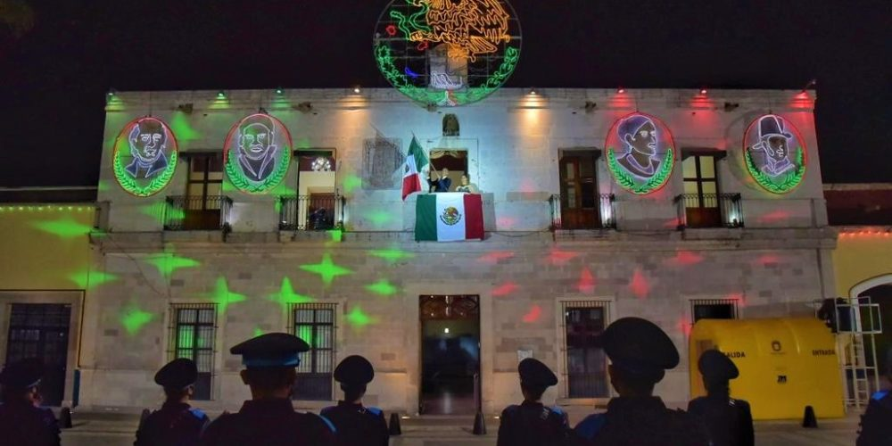 Encabeza Antonio Arámbula ceremonia virtual del Grito de Independencia en JM
