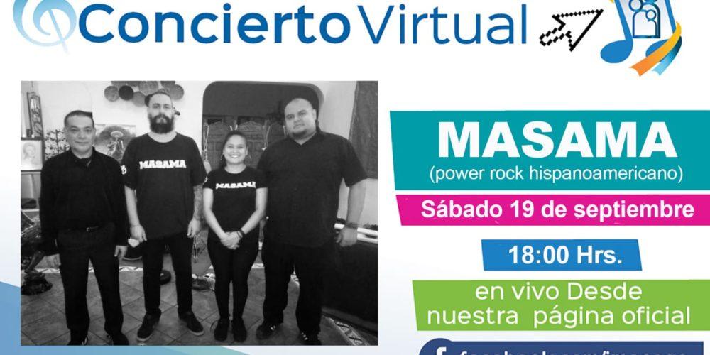 Masama en concierto virtual