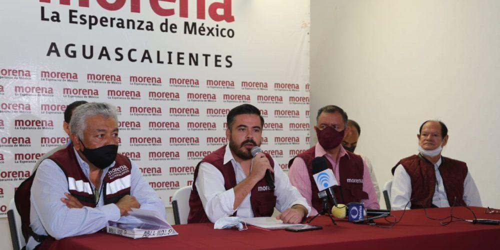 Reconocen en Morena Aguascalientes ir contrarreloj a elecciones de 2021