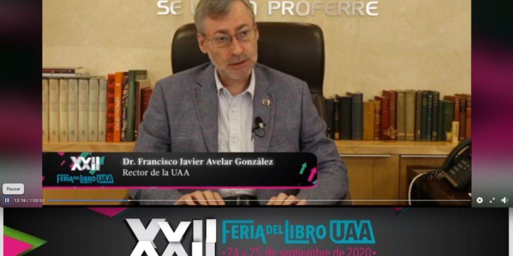Inicia la XXII Feria del Libro UAA de manera virtual