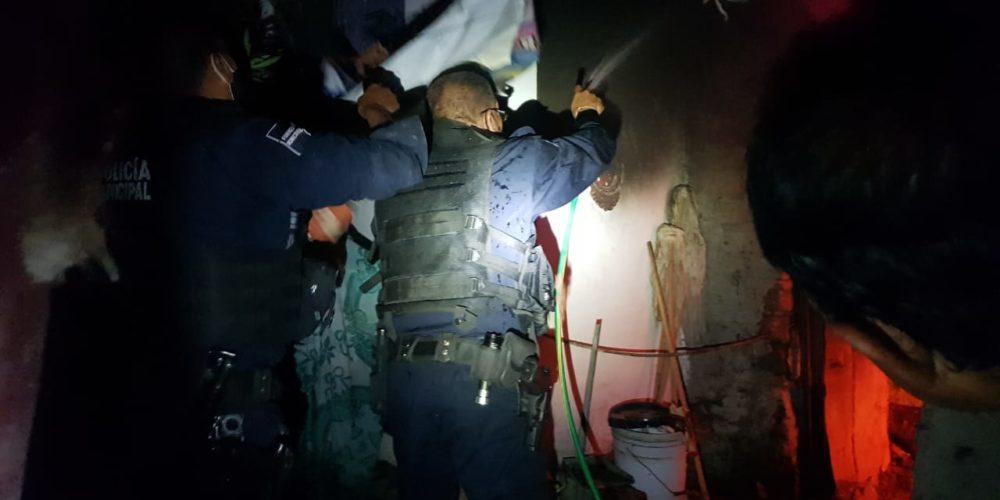 Incendio consume cocina de un domicilio en Rincón de Romos