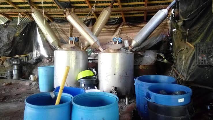 Localizan narco laboratorio en Aguascalientes