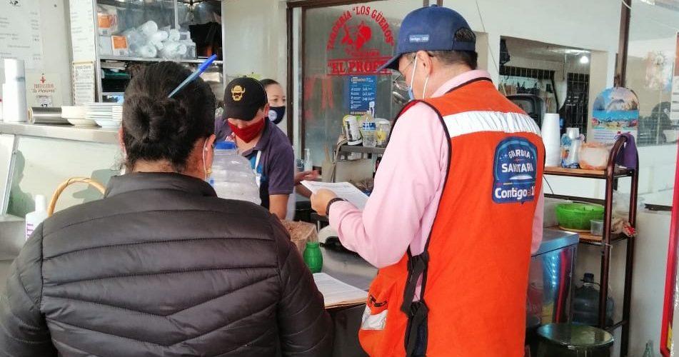 250 negocios clausurados por la Guardia Sanitaria en Aguascalientes