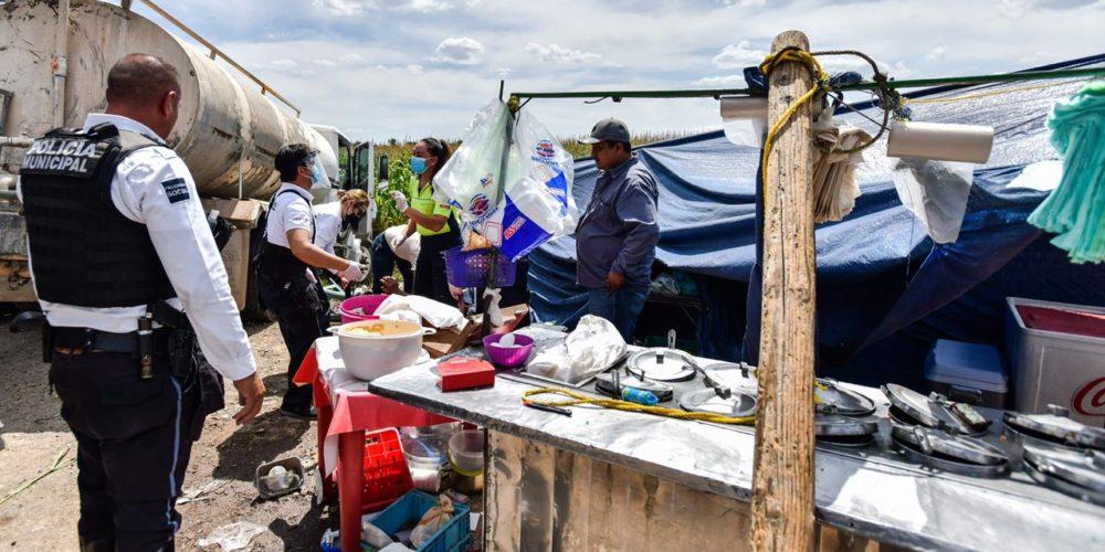 Identifican a víctimas del accidente de la pipa de agua contra puesto de comida en Aguascalientes