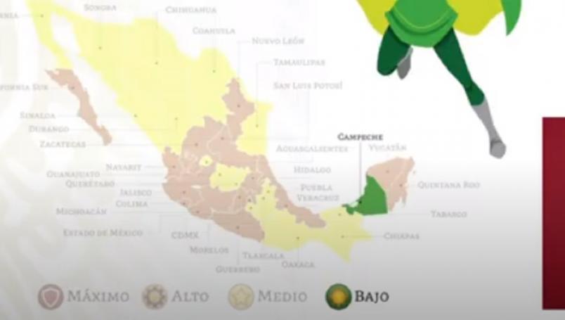 Pese a estar en semáforo verde, Campeche seguirá con clases en línea