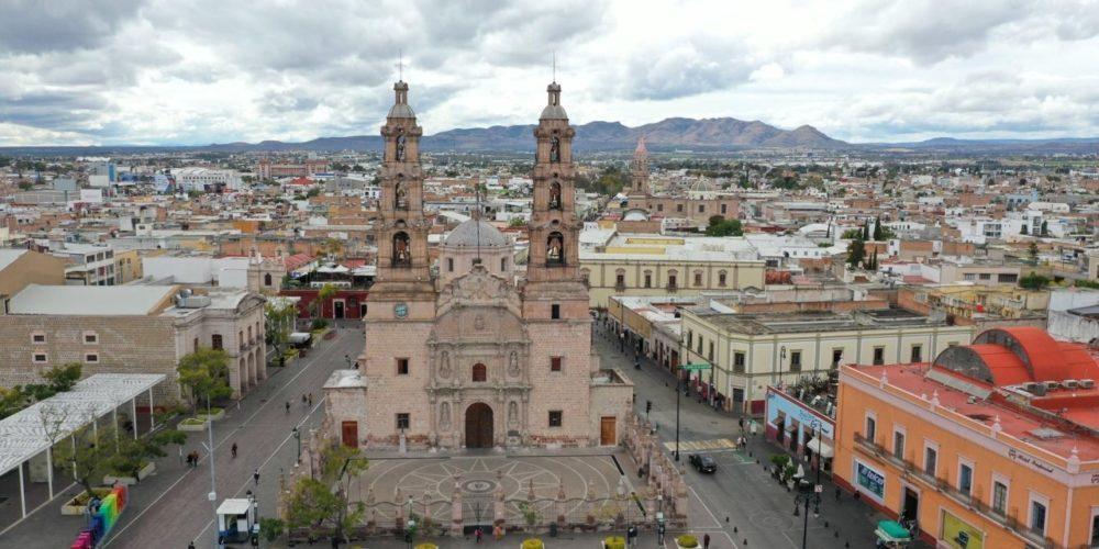 Viernes nublado en Aguascalientes