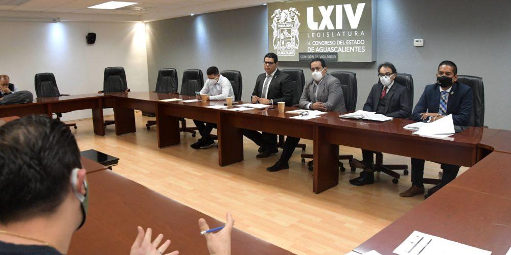 Se reúnen miembros de la Comisión de Vigilancia y el OSFAGS