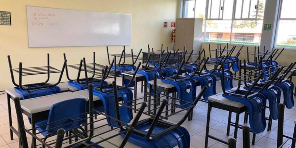 En Aguascalientes: Cerrarán escuelas por 14 días si detectan caso positivo de Covid-19