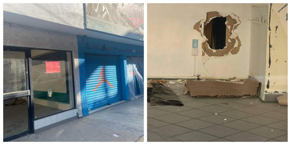 Solitario ladrón roba 100 mil pesos en mercancía de un negocio en Aguascalientes