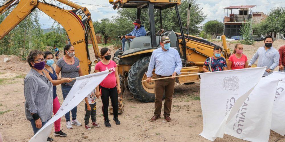 En Calvillo beneficiarán con agua potable a 450 familias