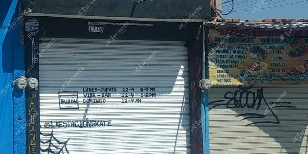 Hombre armado roba más de 3 mp en tienda de skatos en Ojocaliente II