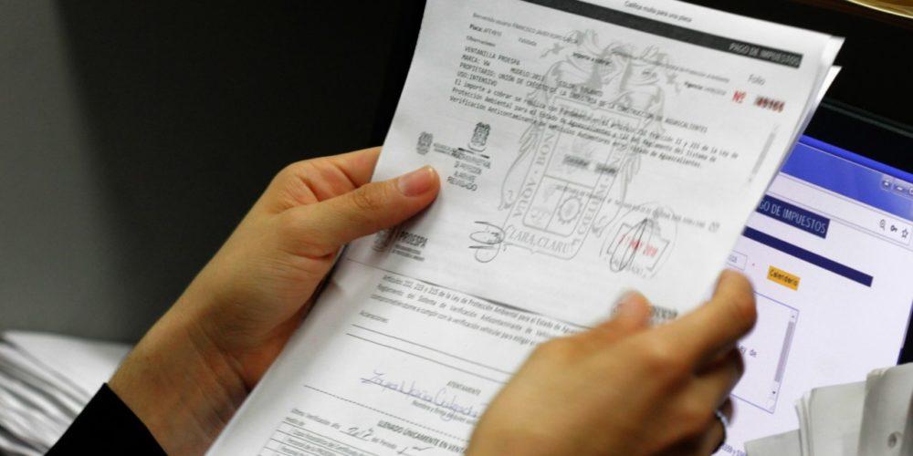 Proespa ofrecerá descuentos en  rezago de multas por verificación