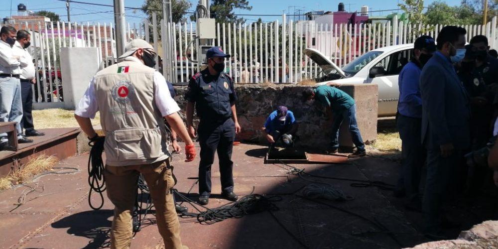 Autoridades suspenden búsqueda de desaparecidos a un costado del Velódromo de Aguascalientes