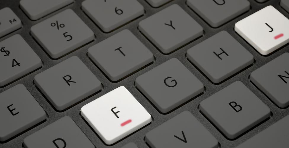 Esta es la función de los relieves en el teclado de tu computadora