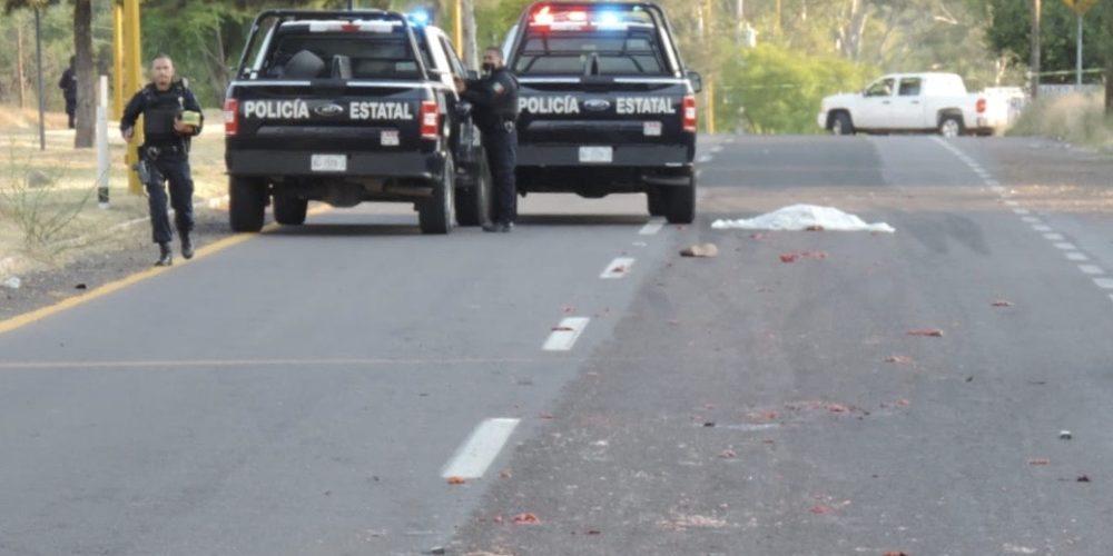 Identifican a hombre atropellado y destrozado en Calvillo