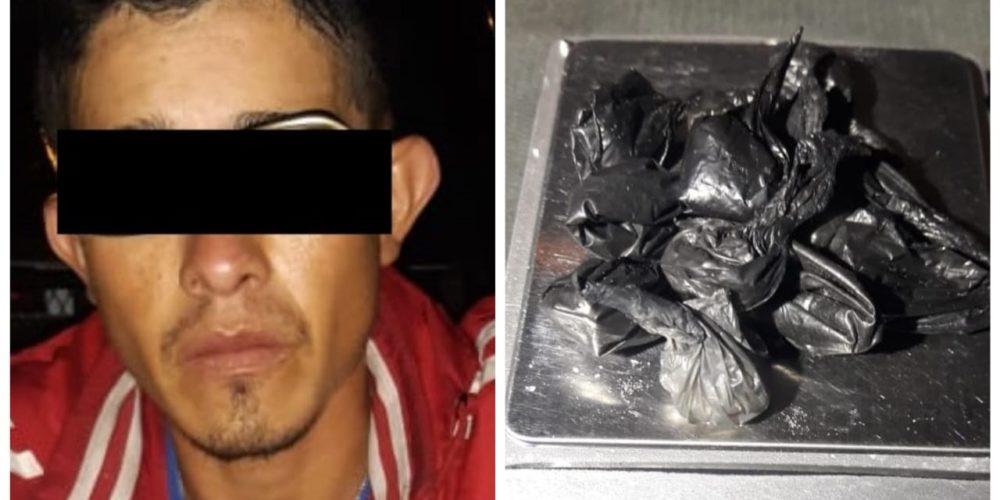 """""""El Chanate"""" fue detenido en Jesús María con 12 envoltorios de crystal"""