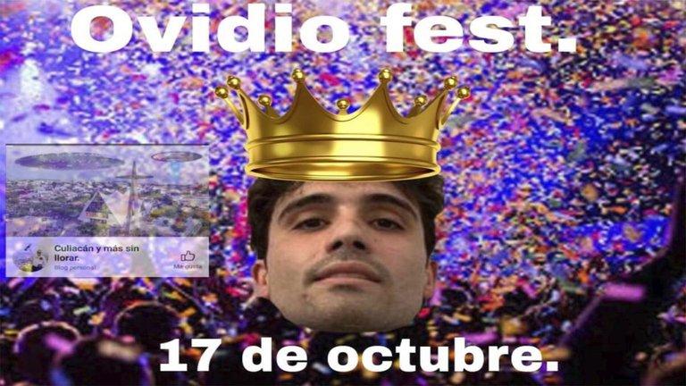 Promueven el Ovidio Fest a un año del Culiacanazo
