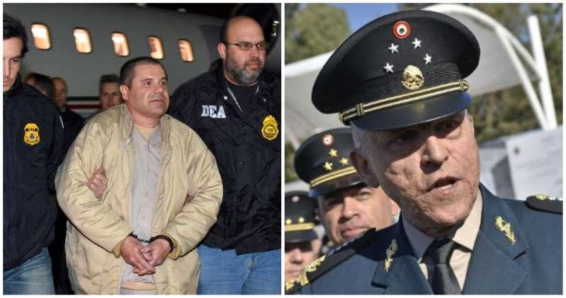 """Joaquín """"El Chapo"""" Guzmán no testificará contra Cienfuegos"""