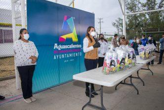 Más de 200 mil apoyos alimenticios entregados este año por el municipio de Aguascalientes