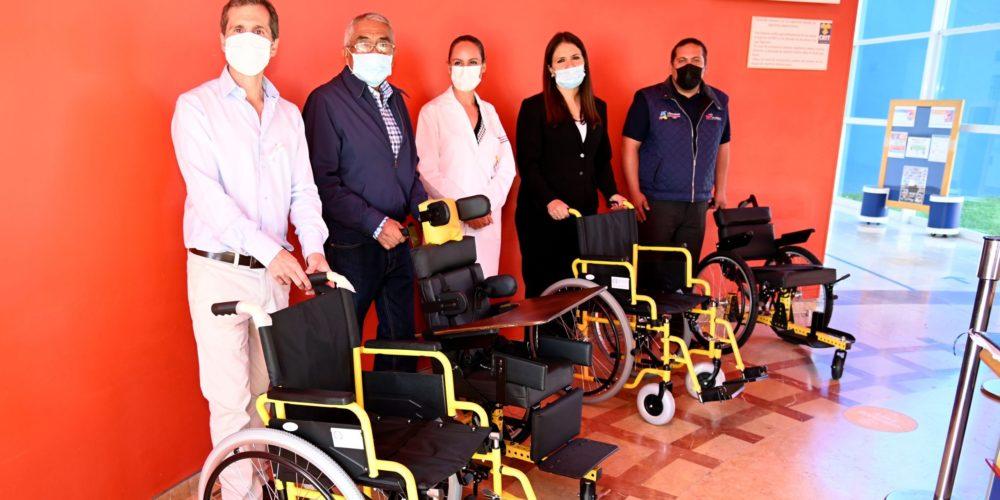 DIF municipal apoyará al CRIT Aguascalientes con sillas de ruedas