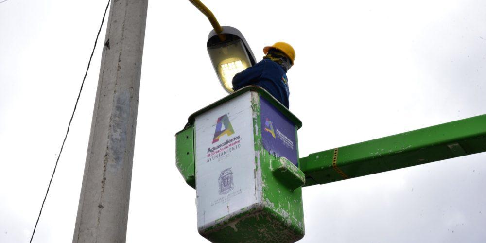 Instalarán 270 luminarias antivandálicas en Los Negritos