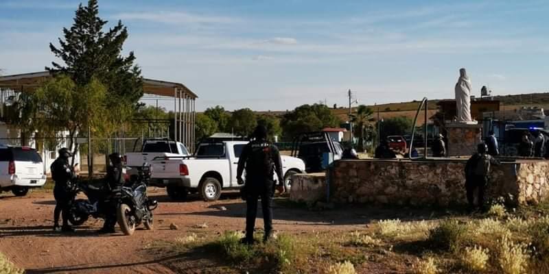 14 sicarios muertos y 3 policías heridos dejó balacera en Calera, Zacatecas