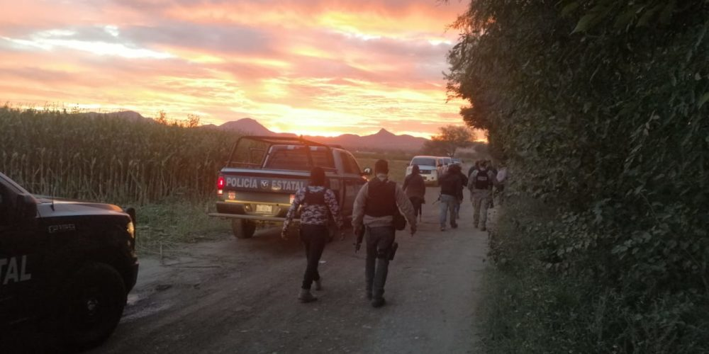 Balacera entre policías y narcos deja detenidos en Aguascalientes