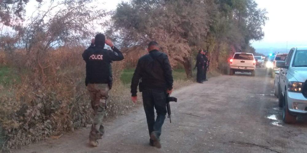 3 detenidos, droga y arma aseguradas, dejó balacera en Aguascalientes