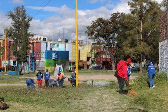 Programa 4×4 realiza jornadas de limpieza en el Ojo de Agua