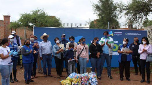 Municipio realiza colecta de apoyo en favor de familias de comunidades rurales
