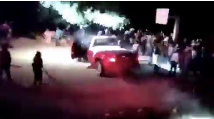 Boda acabó en riña con acuchillados y atropellados en Rincón de Romos