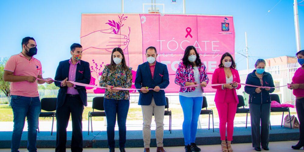 Arranca campaña de prevención al cáncer de mama en Rincón de Romos