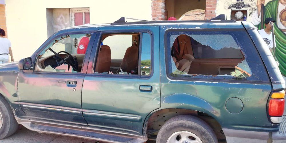 Se cargan a Emmanuel por destruir camioneta en Jesús María