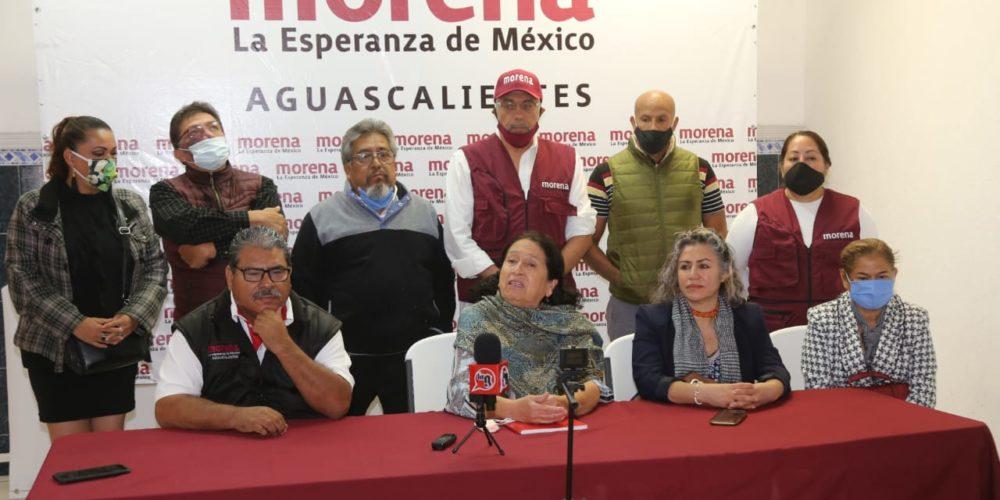 Se engallan en Morena: Vamos por carro completo en Aguascalientes