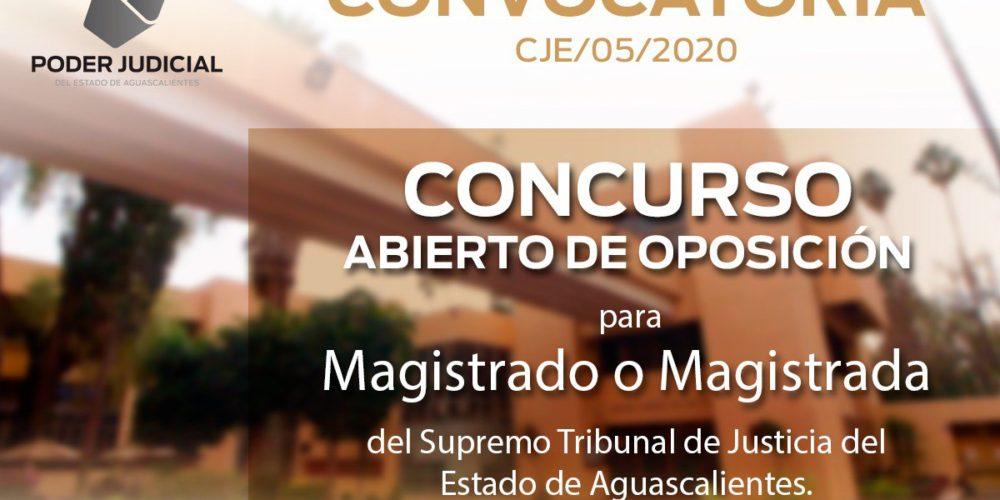 Lanzan convocatoria para magistrados del Supremo Tribunal de Justicia