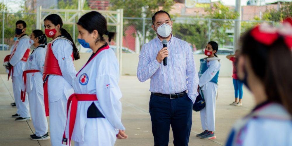 Inauguran escuelas de Taekwondo en Rincón de Romos