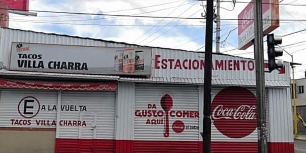 Tradición de más de 40 años: Tacos la Villa Charra sigue abierto