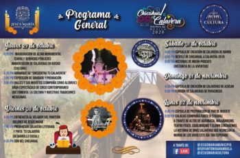 Preparan festival de Chicahual a Calavera de manera virtual