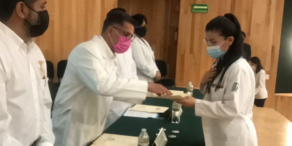 Reconocen al personal de salud en el IMSS en Aguascalientes