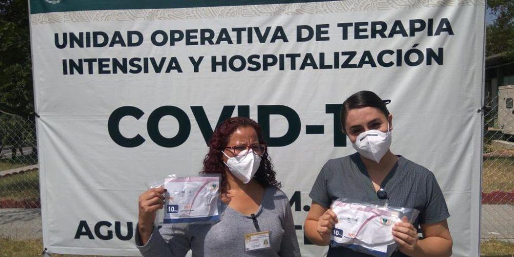 Fundación Arturo Ávila entrega cubrebocas en la 14° Zona Militar