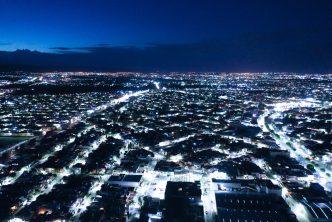 57 mil luminarias led colocadas  en el municipio de Aguascalientes