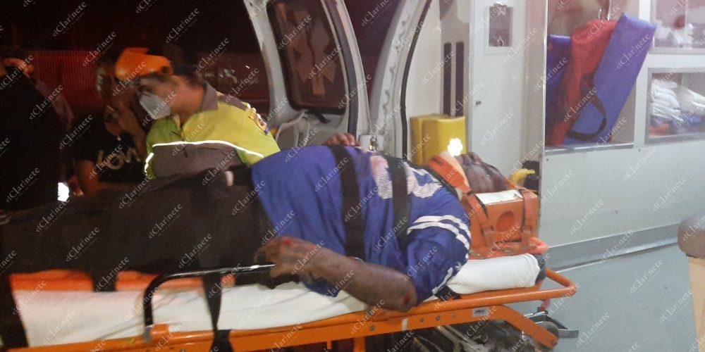 Cayó de su motocicleta y agoniza en Aguascalientes