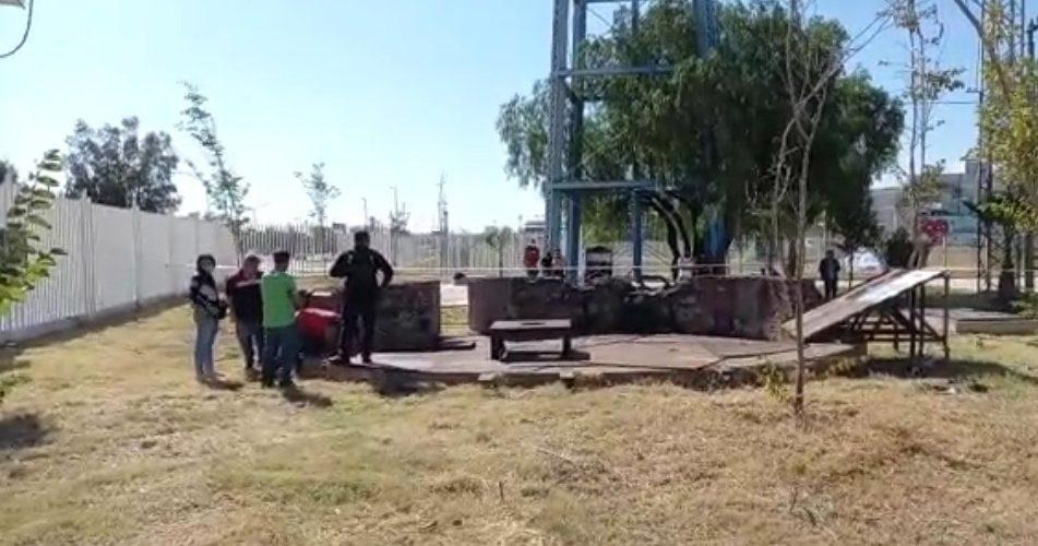 Buscan desaparecidos en predios de ex talleres del ferrocarril. Al final, autoridades  abandonan búsqueda