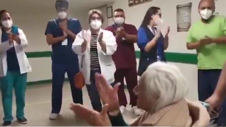 Mujer de 103 años se recupera del Covid-19 en Jalisco
