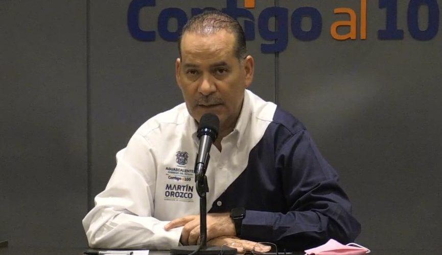 Descarta Orozco riesgo de un semáforo rojo y otro confinamiento en Aguascalientes