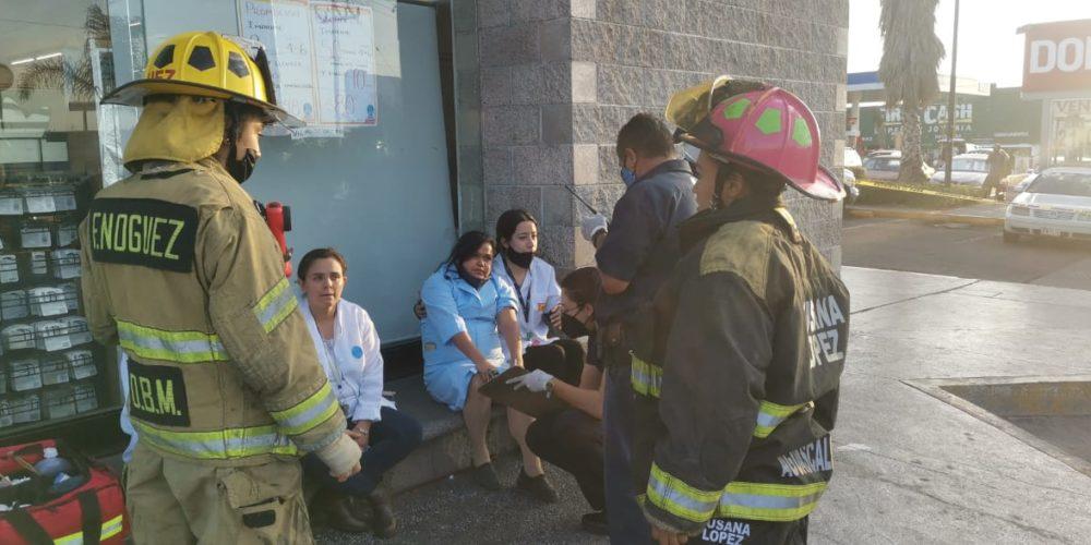 Empleadas de una farmacia sufrieron una intoxicación en Aguascalientes