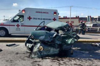 Por accidentes de tránsito, 150 personas murieron en Aguascalientes en 2020