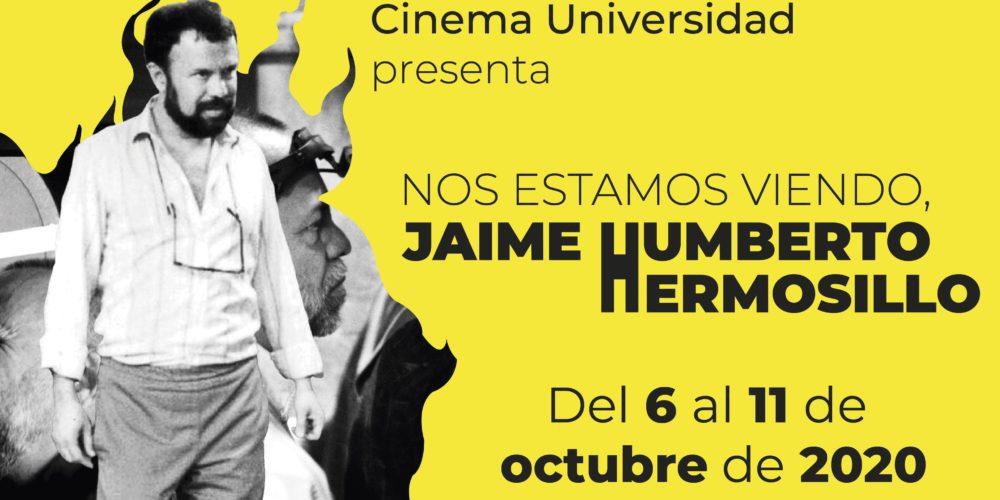 Realiza UAA homenaje al cineasta hidrocálido Jaime Humberto Hermosillo