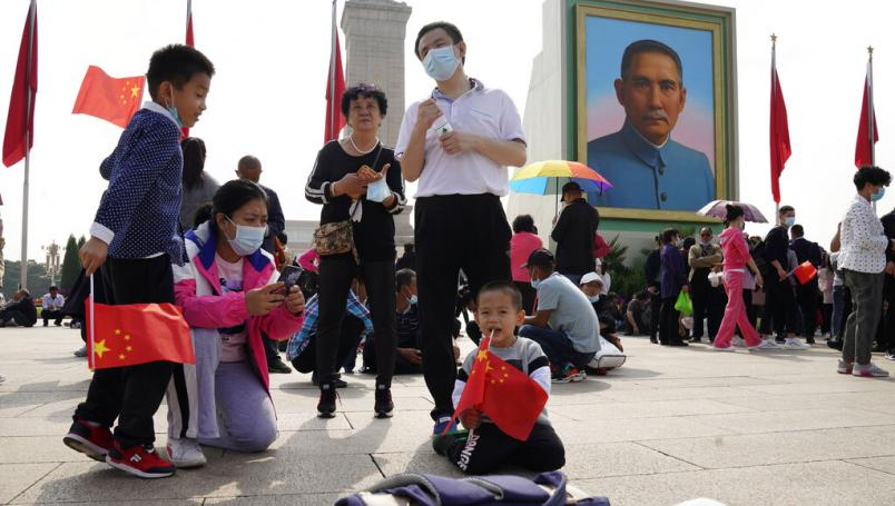 China se va de vacaciones con una tasa de contagios de coronavirus cercana a cero