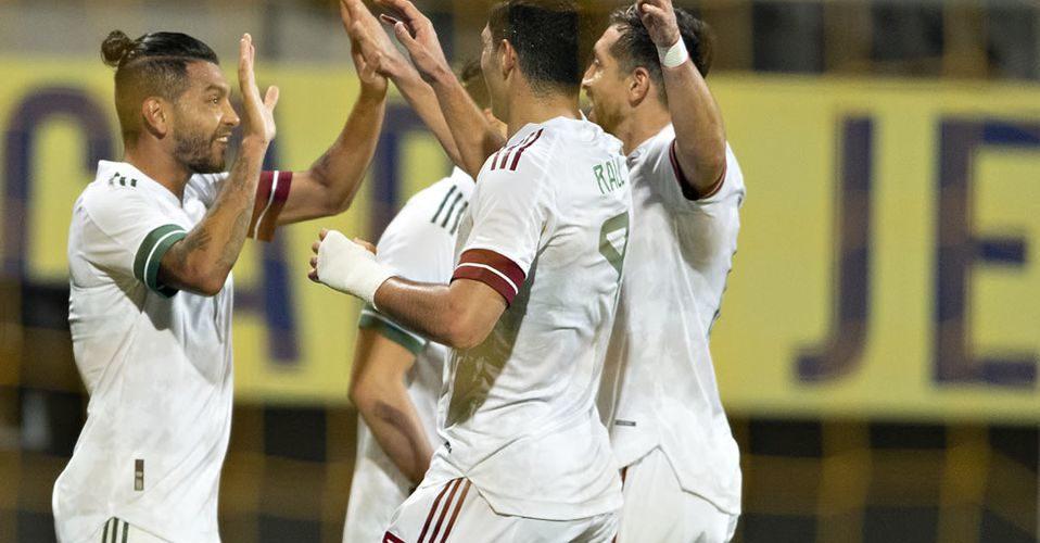 México empata a 2 con Argelia